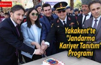 """Yakakent'te """"Jandarma Kariyer Tanıtım"""" Programı"""