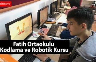 Fatih Ortaokulu Kodlama ve Robotik Kursu