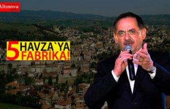 HAVZA'YA 5 FABRİKA!