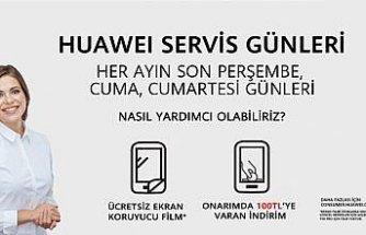 Huawei servis günleri başlıyor