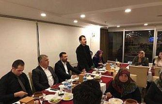 Kaymakam Koşal'dan şehit aileleri ve gazilere iftar