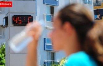 Güneydoğu'da sıcaklıklar 40 dereceyi aştı
