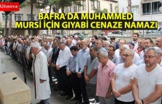 Muhammed Mursi için Bafra'da gıyabi cenaze namazı