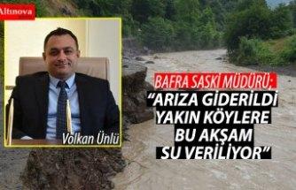 """""""ARIZA GİDERİLDİ YAKIN KÖYLERE BU AKŞAM SU VERİLİYOR"""""""