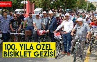 100. Yıla Özel Bisiklet Gezisi