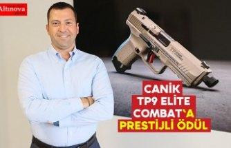 Canik TP9 Elite Combat'a prestijli ödül