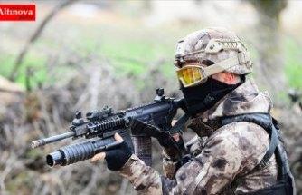 Çukurca kırsalında 3 terörist etkisiz hale getirildi