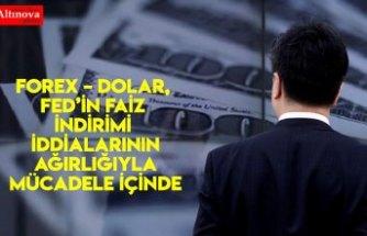 Forex – Dolar, Fed'in Faiz İndirimi İddialarının Ağırlığıyla Mücadele İçinde