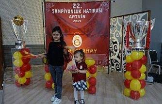 Galatasaray'ın kupaları Artvin'de