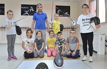 Trabzon'da eskrime ilgi artıyor