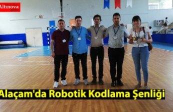 Alaçam'da Robotik Kodlama Şenliği