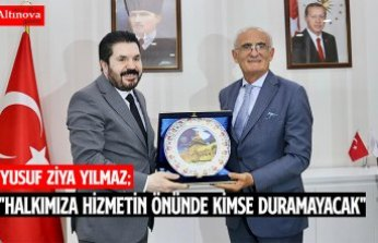 """""""HALKIMIZA HİZMETİN ÖNÜNDE KİMSE DURAMAYACAK"""""""