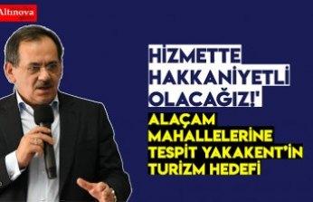 HİZMETTE HAKKANİYETLİ OLACAĞIZ!'