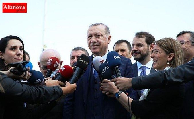 Cumhurbaşkanı Erdoğan: Amerika, Rusya tüm koalisyon güçlerinin hassasiyetini istedik