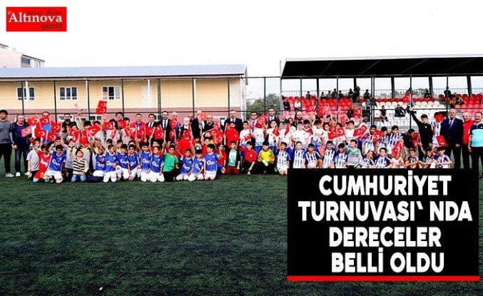CUMHURİYET TURNUVASI' NDA DERECELER BELLİ OLDU