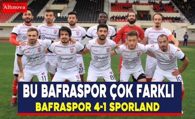 Bu Bafraspor çok farklı
