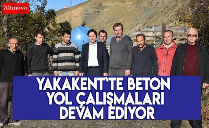 MUTAFLI MAHALLESİ BETON YOL ÇALIŞMALARI DEVAM EDİYOR