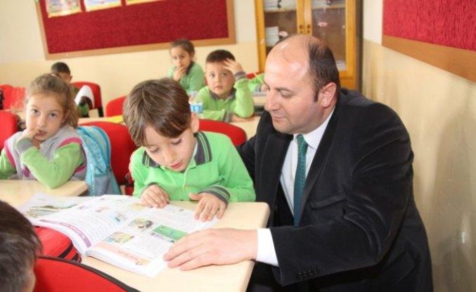Milli Eğitim Müdürü Tümer'den okul ziyaretleri