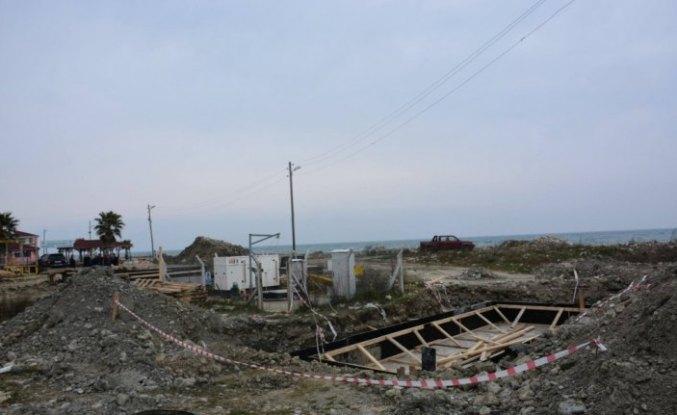 Türkeli'de derin deniz deşarjı çalışmaları