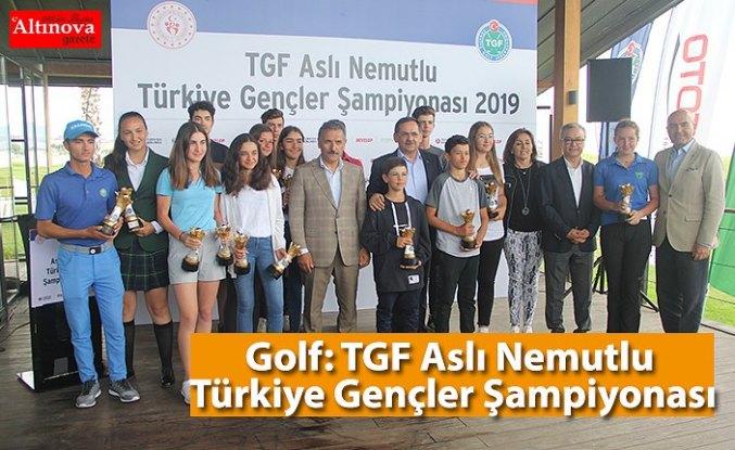 Golf: TGF Aslı Nemutlu Türkiye Gençler Şampiyonası