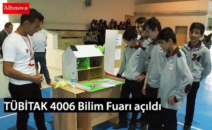 TÜBİTAK 4006 Bilim Fuarı açıldı