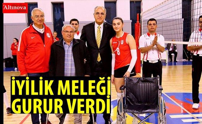 'İYİLİK MELEĞİ' GURUR VERDİ
