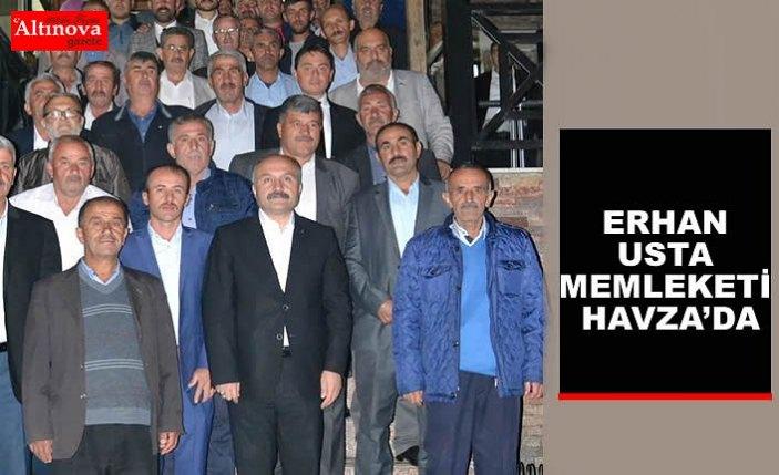 ERHAN USTA MEMLEKETİ HAVZA'DA