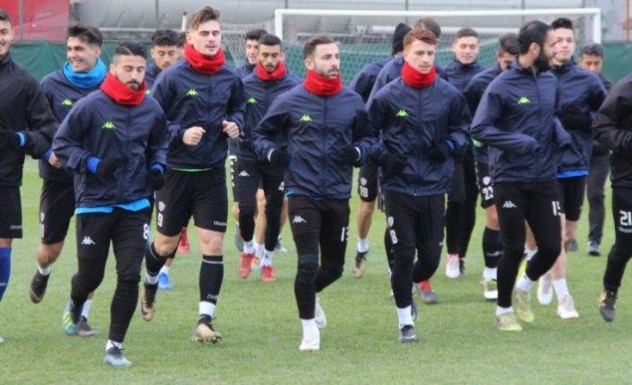 Kardemir Karabükspor, Denizlispor maçı hazırlıklarını tamamladı