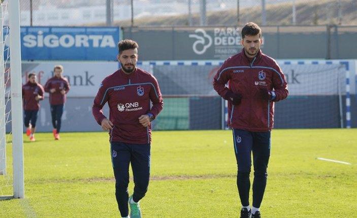 Trabzonspor'da kupa maçı hazırlıkları başladı