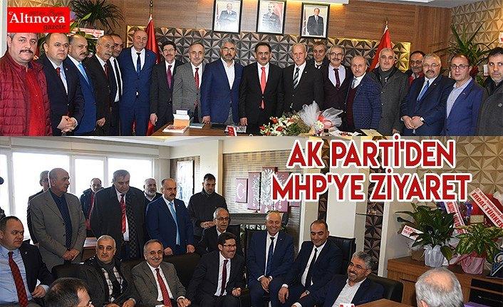 AK PARTİ'DEN MHP'YE ZİYARET