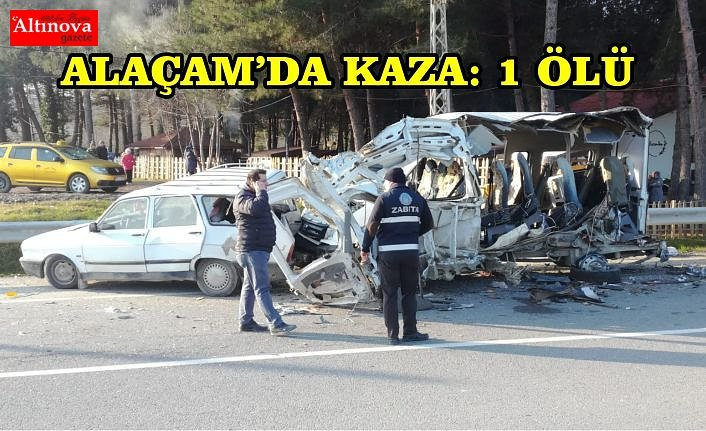 ALAÇAM'DA KAZA