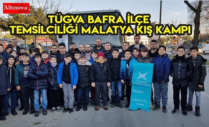 TÜGVA Bafra İlçe Temsilciliği Malatya kış kampı