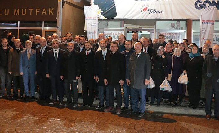 AK Parti Samsun İl Yönetimi Terme'ye Çıkarma Yaptı