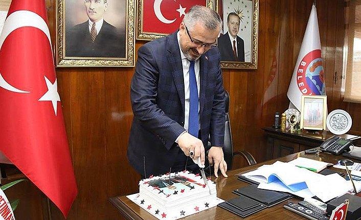 Bafra Belediye Başkanına Doğum Günü Sürprizi
