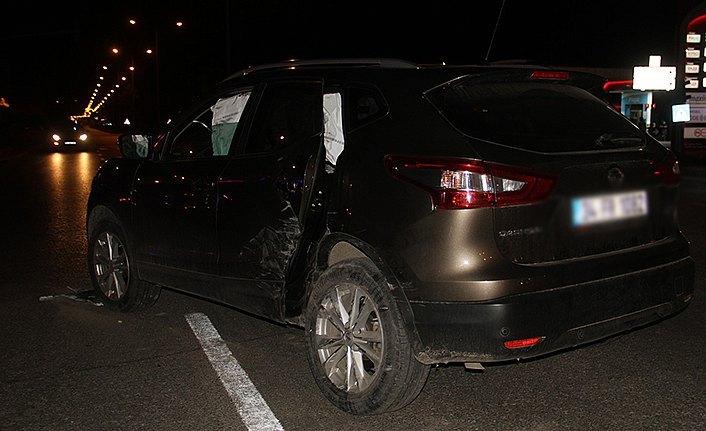 Bafra'da iki otomobil çarpıştı: 5 yaralı