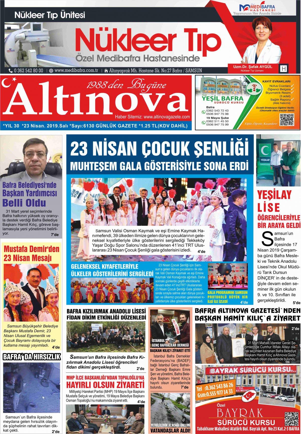 Samsun Bafra Haberleri | Samsun Haberleri - Haber, Haberler - 23.04.2019 Manşeti