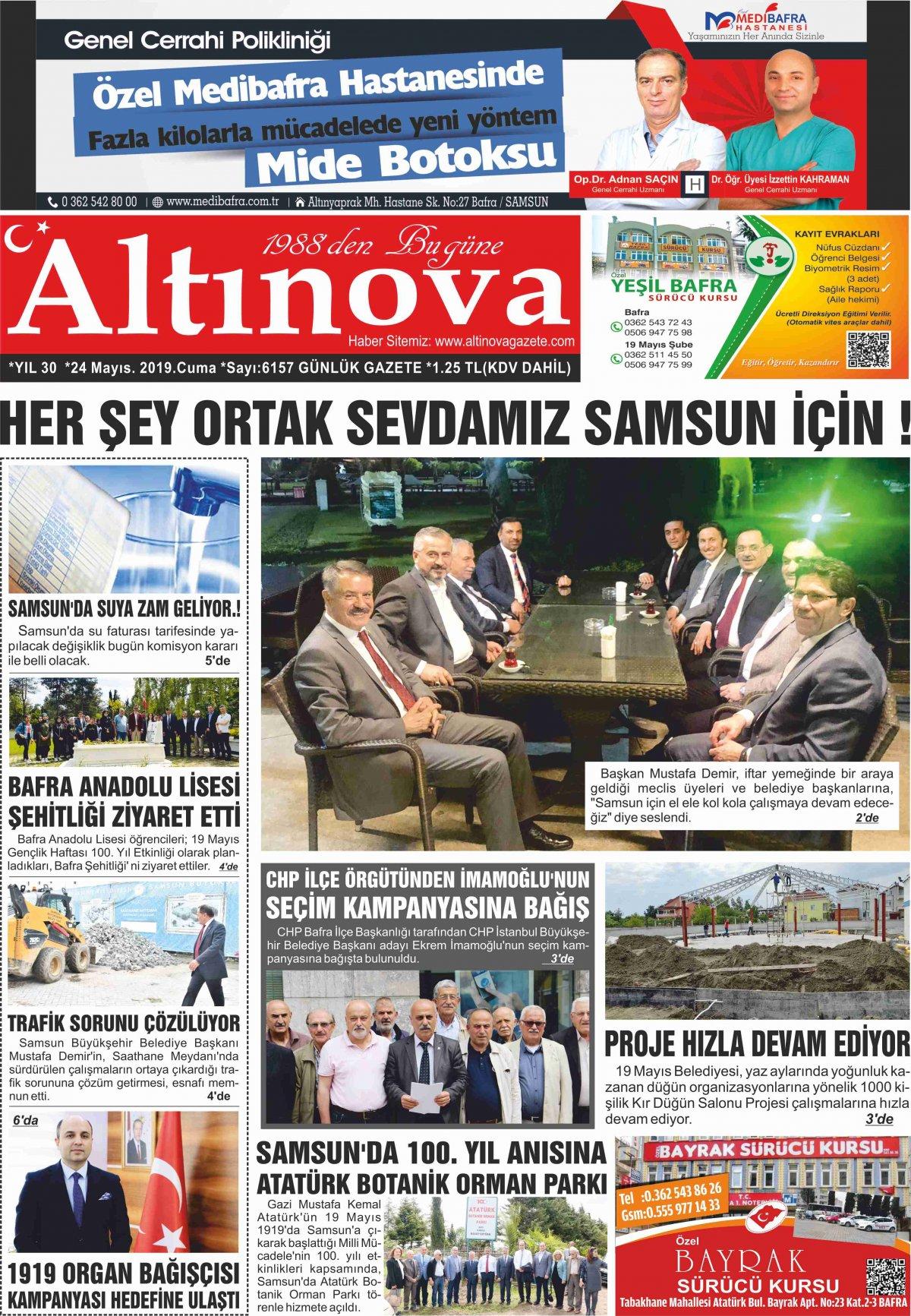 Samsun Bafra Haberleri | Samsun Haberleri - Haber, Haberler - 24.05.2019 Manşeti