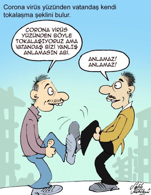 korona-karikatür