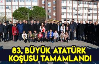83  Büyük Atatürk Koşusu tamamlandı