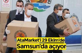 AtaMarket'i 29 Ekim'de Samsun'da açıyor