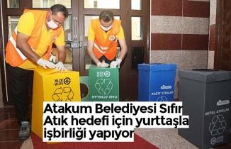 Atakum Belediyesi Sıfır Atık hedefi için yurttaşla işbirliği yapıyor