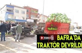 Bafra`da ölüme ramak kala