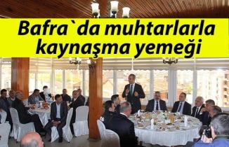 KAYMAKAM AHMET ADANUR MUHTARLAR TOPLANTISINDA KONUŞTU