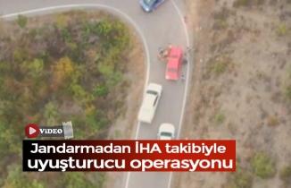 SAMSUN'DA İHA DESTEKLİ UYUŞTURUCU OPERASYONU