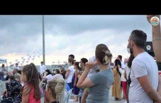 Atakum Sahilinde düzenlenen Yaz Etkinliklerinin İlk günü