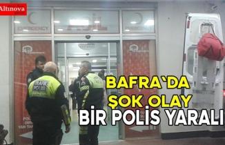 Samsun`da bir polis intihar etti