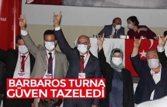 BARBAROS TURNA GÜVEN TAZELEDİ