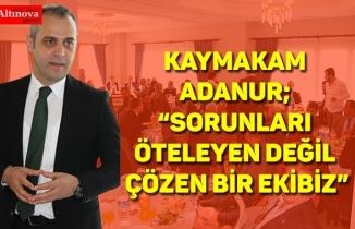 BAFRA KAYMAKAMI AHMET ADANUR