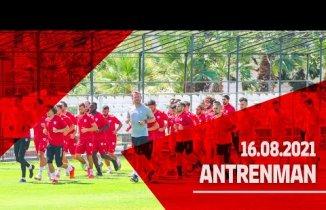 Samsunspor Balıkesirspor ile oynayacağı Maçın antremanlarına başladı