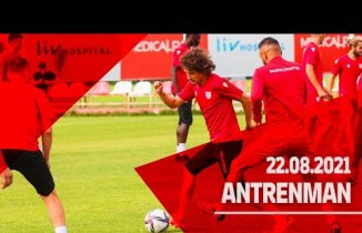 Samsunspor Hafta Sonu oynayacağı maça hazırlanıyor